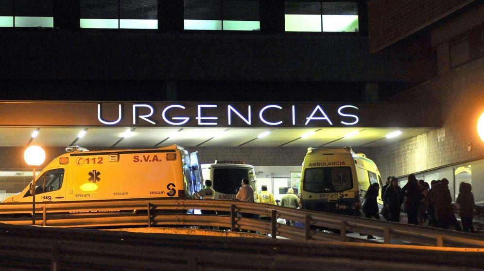 Foto: Las puertas del servicio de urgencias del Hospital de Albacete. (EFE)