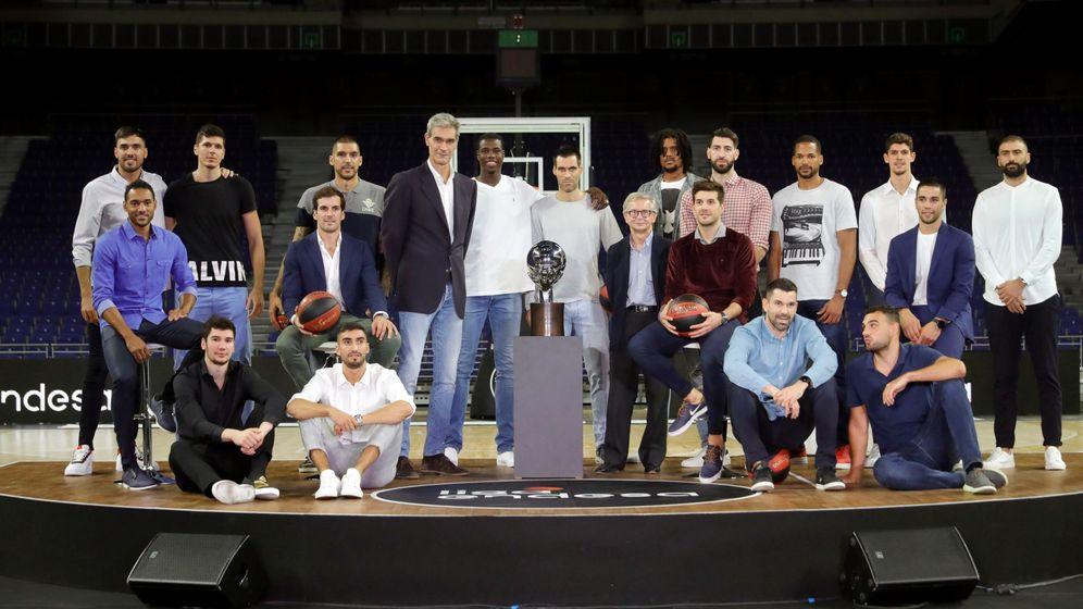 Foto: La presentación de la nueva temporada de la Liga Endesa se celebró este viernes en Madrid. (EFE)