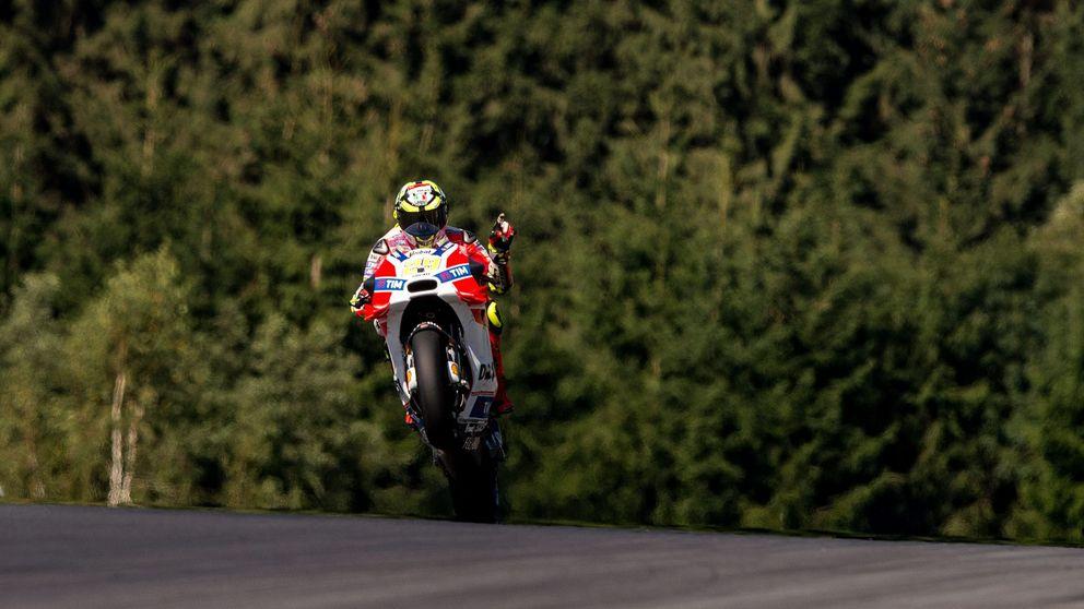 Iannone estrena victoria en MotoGP,  la primera de Ducati desde el año 2010