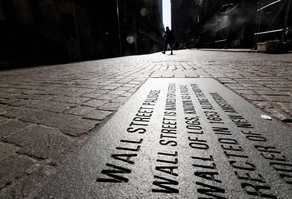 Foto: Wall Street, vacío. (EFE)
