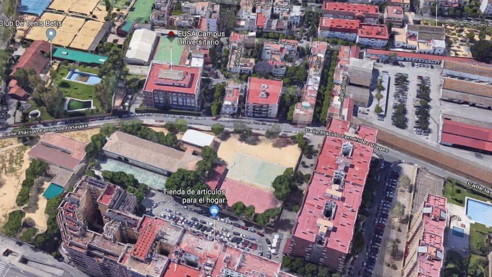 Foto: Campus Universitario Eusa, donde se ubica el solar adquirido por Corestate.