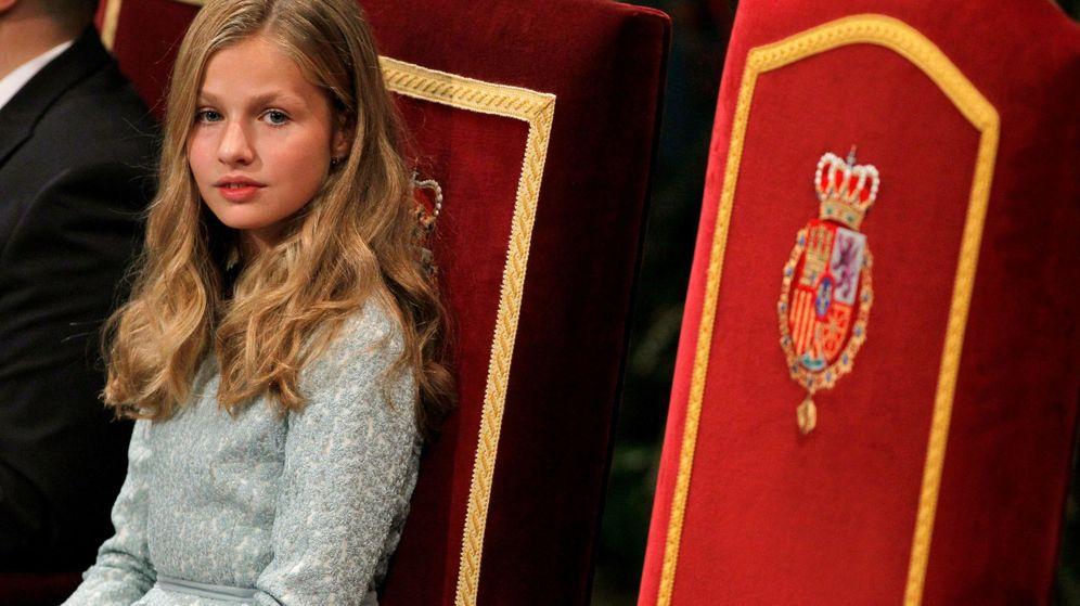 Foto: La princesa Leonor. (Efe)