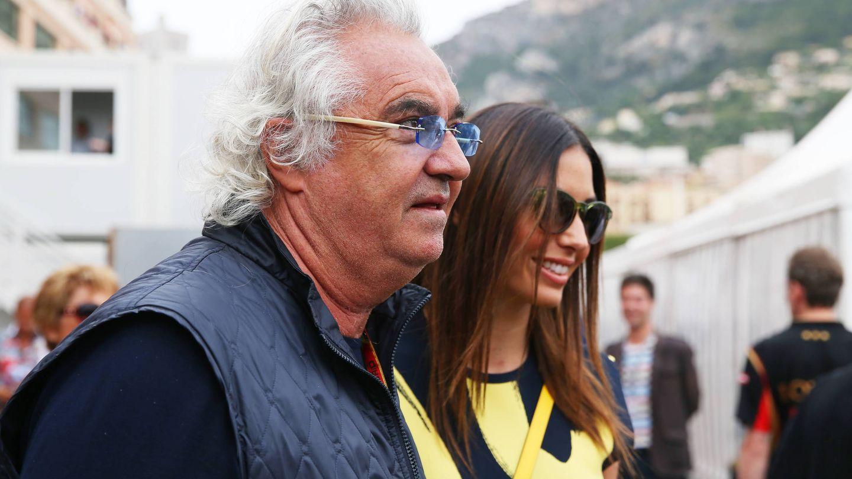 Flavio Briatore y Elisabetta Gregoraci. (Getty)