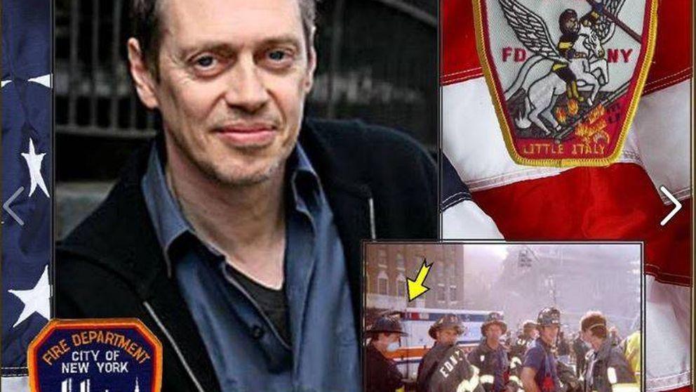 La increíble historia del 'bombero' Steve Buscemi en el 11-S