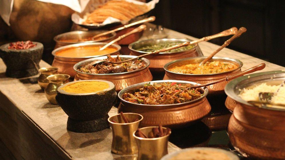 Foto: La comida tradicional india, rica, sana y saludable, fue el refugio de Prachi