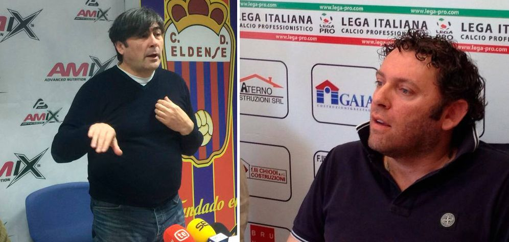Foto: Nobile Capuani (i) y Ercole Di Nicola.