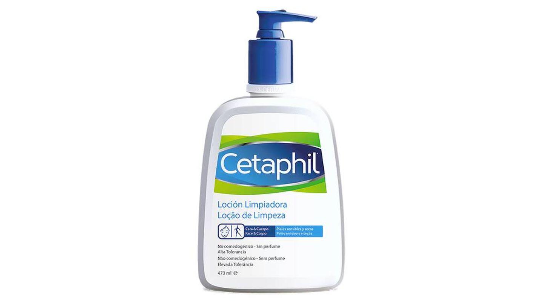 Loción limpiadora de Cetaphil.