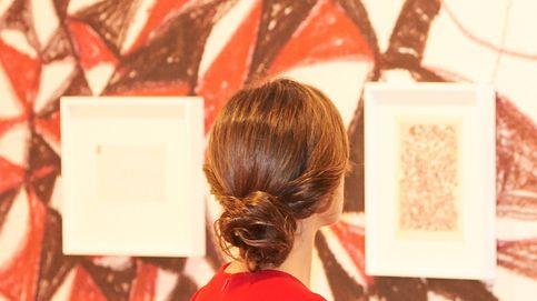 Doña Letizia se convierte en una obra de Klimt en su visita a ARCO