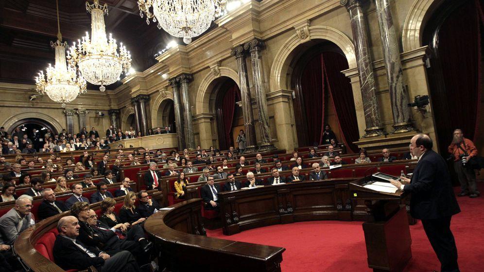 Foto: Debate de investidura de Puigdemont en enero de 2016. (EFE)