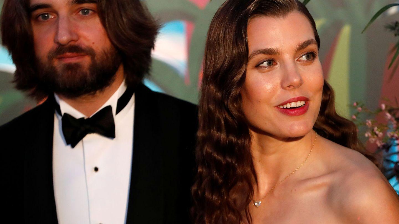 Dimitri Rassam y Carlota Casiraghi. (Reuters)