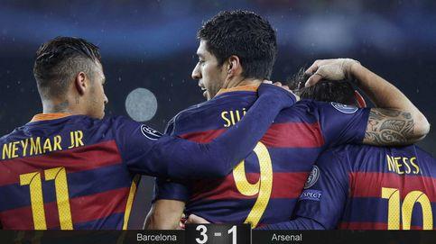 Abran paso al Barcelona: el Arsenal se postra ante el indiscutible favorito