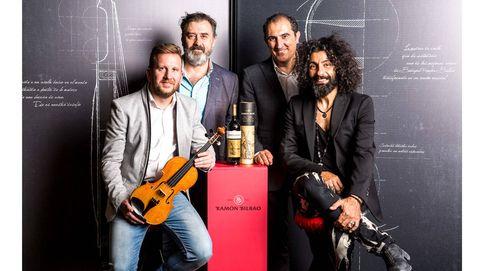 Ara Malikian inspira un violín con una barrica de vino de Ramón Bilbao