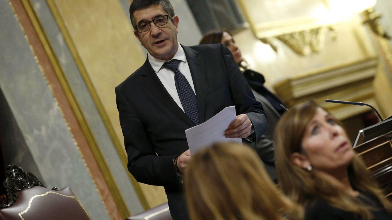 Foto: El recién elegido presidente del Congreso, Patxi López. (EFE)