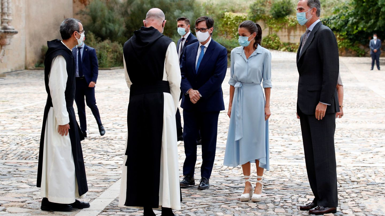 Los Reyes en Cataluña. (Reuters)