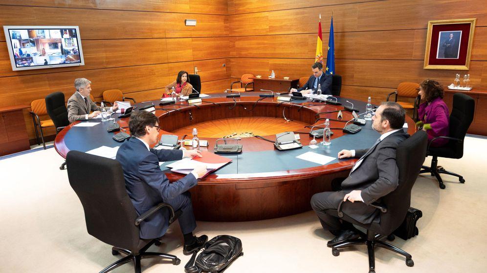 Foto: Reunión del Consejo de Ministros, este martes. (Reuters)