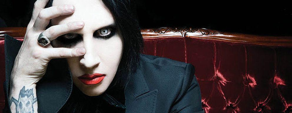 Foto: Marilyn Manson, el nuevo (e inesperado) rostro de Saint Laurent