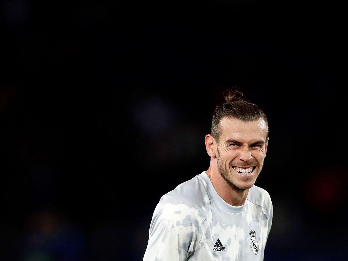 Foto: Gareth Bale, antes del fatídico 3-0 del PSG al Real Madrid. (EFE)