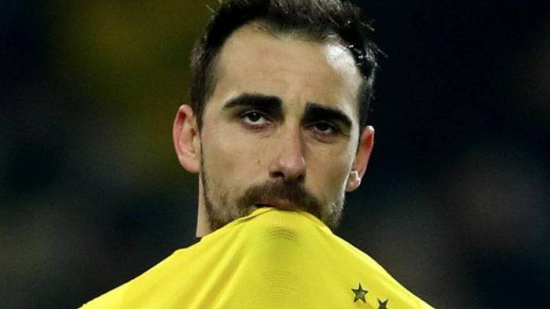 El dolor y las lágrimas de Paco Alcácer en su peor día con el Borussia Dortmund