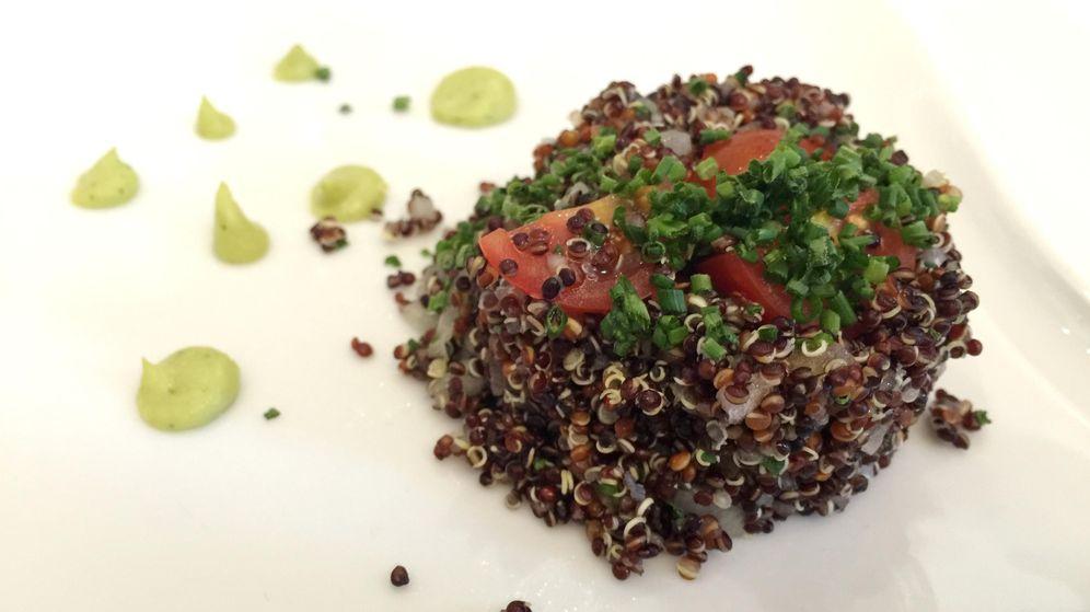 Foto: Rafael Piqueras. Ensalada de quinoa