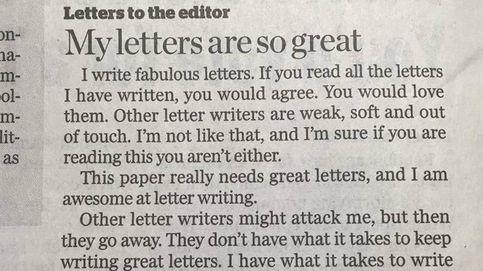 ¿Es esta la mejor carta al director de todos los tiempos? Aprended, políticos