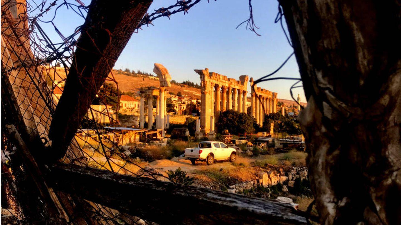 Las ruinas de Baalbek. (J. B.)