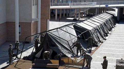 Segovia desmonta su hospital de campaña, que no se ha usado por falta de personal