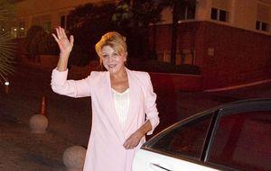 La baronesa Thyssen fue al hospital pero no pudo ver al hijo de Borja