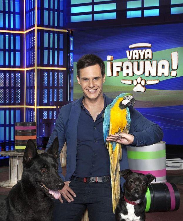Foto: Christian Gálvez, presentador de '¡Vaya fauna!'