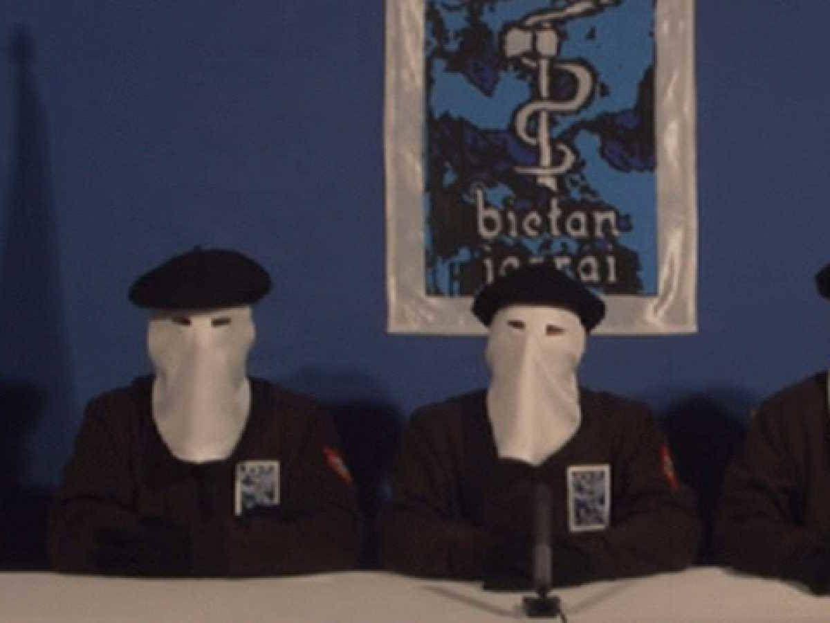 Foto: Uno de los últimos comunicados de ETA.