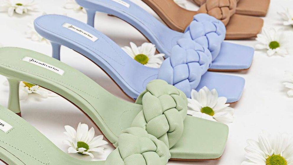 Stradivarius agota el stock de las sandalias de tacón más estilosas de la primavera