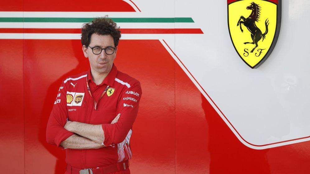 Foto: Binotto no tuvo palabras para Vettel. (EFE)