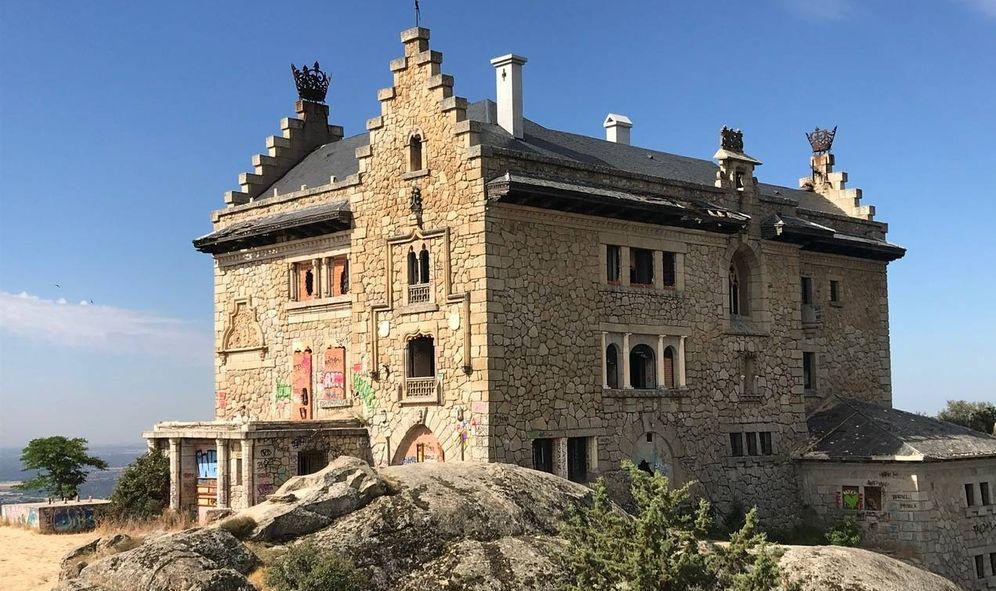 Foto: El palacio del Canto del Pico, en Torrelodones, Madrid. (José Martín)