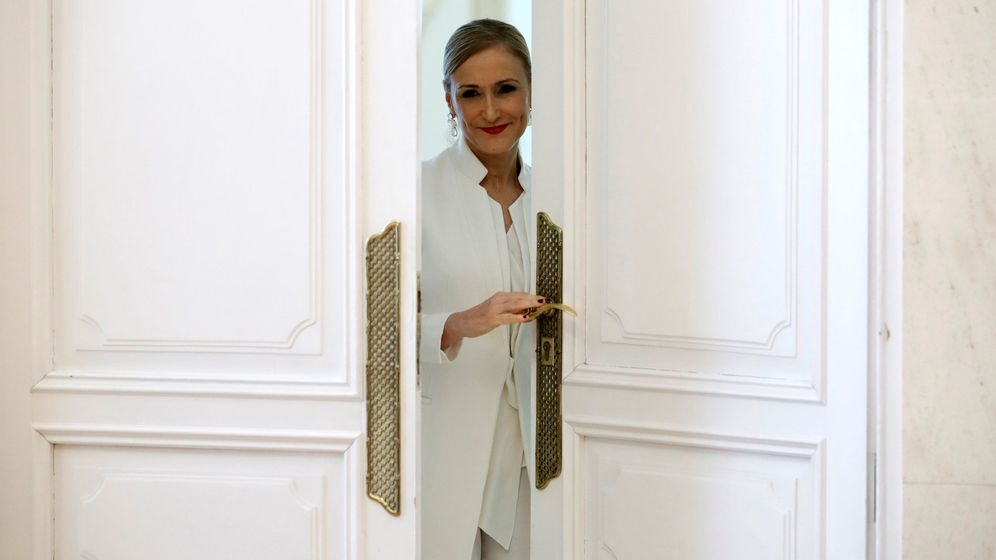 Foto: La expresidenta de Madrid Cristina Cifuentes. (EFE)