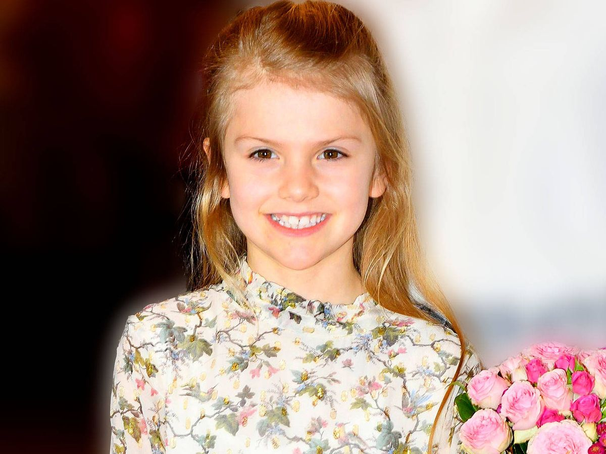 Foto:  La princesa Estelle, en una aparición reciente. (Cordon Press)