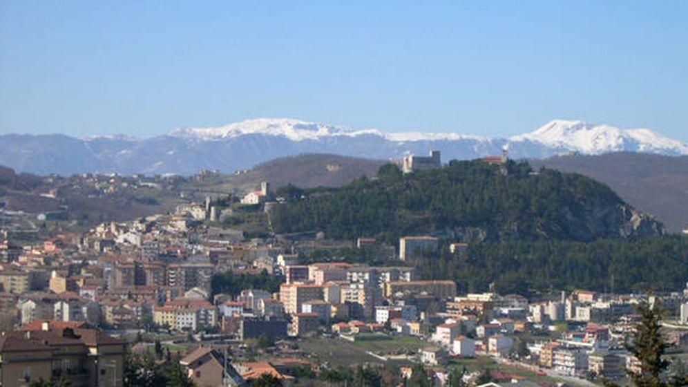 Foto: Campobasso, una de las ciudades de la región de Molise, con su 'Castello Monforte' al fondo