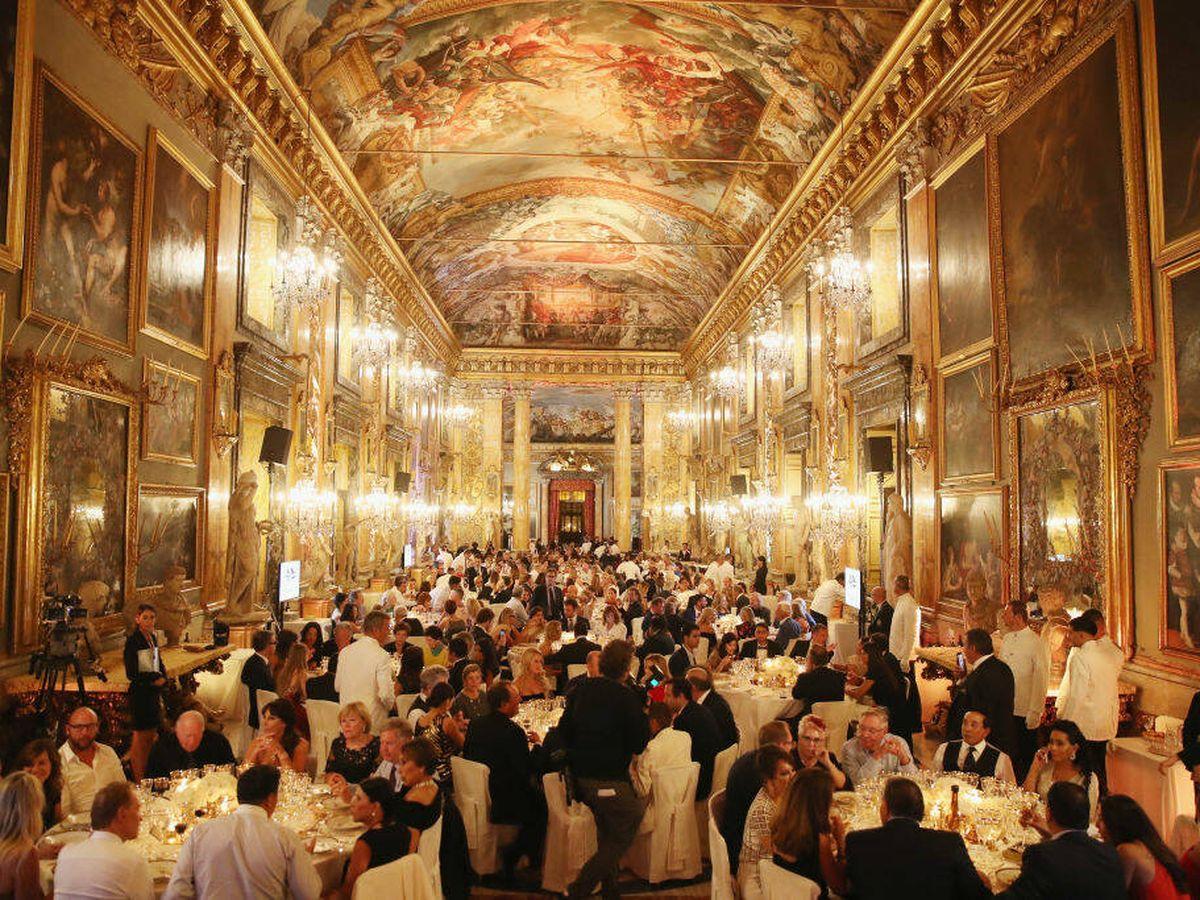 Foto: Un evento en el Palazzo Colonna. (Getty)