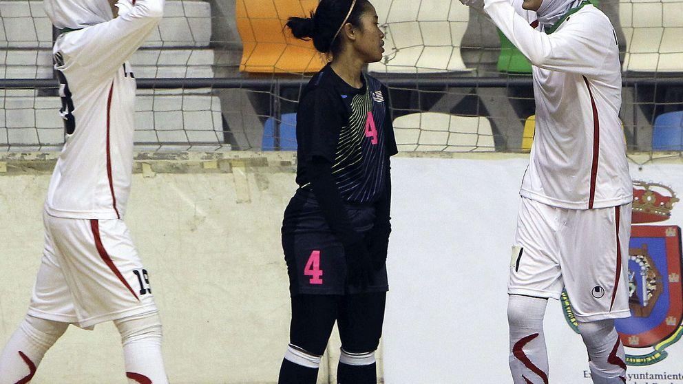 El 'hiyab' mantiene vivo el amor por el deporte de las mujeres en Irán