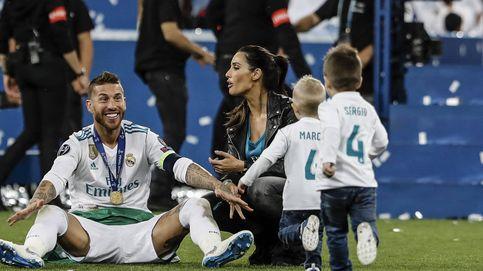 Pilar Rubio, Georgina...: las Wags celebran el triunfo del Madrid con sus parejas y sus hijos