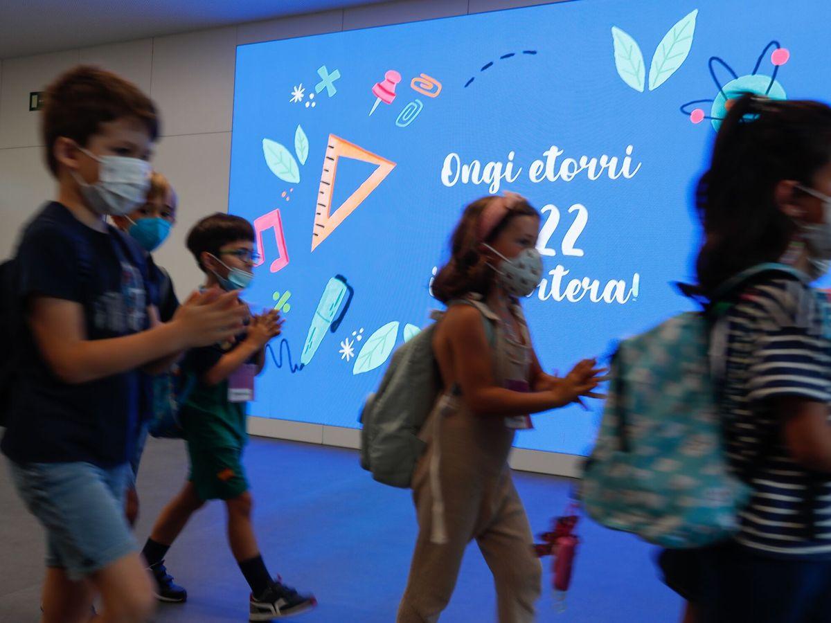Foto: Inicio del curso escolar 2021-2022. (EFE)