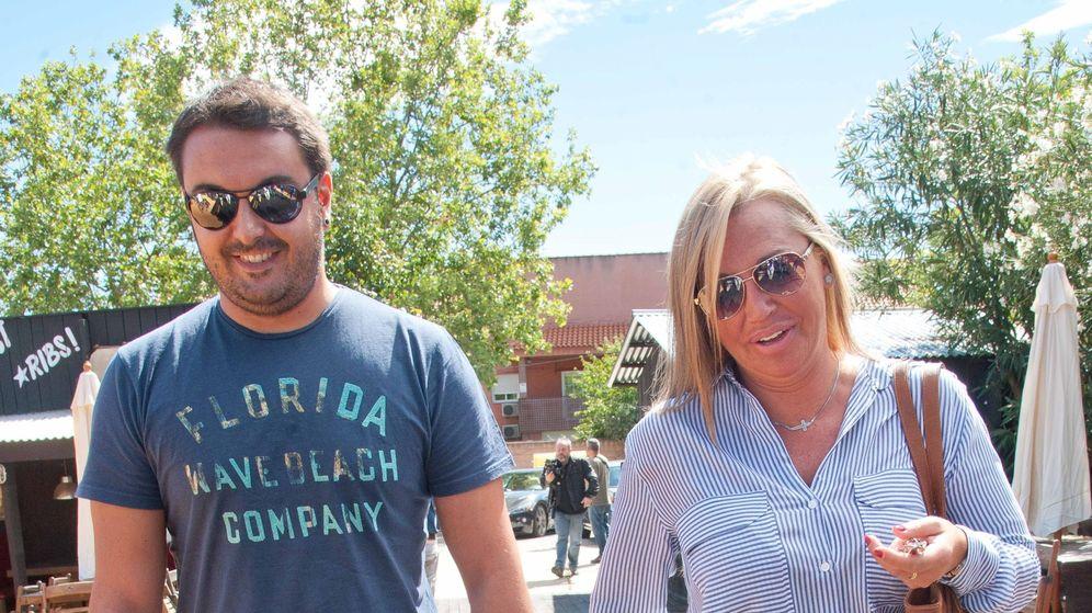 Foto: Belén Esteban y Miguel Marcos en una imagen de archivo. (Cordon Press)