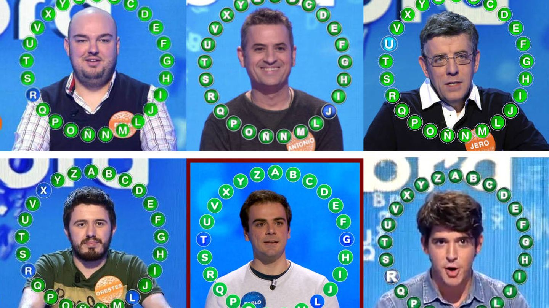 Fran, Antonio, Jero, Orestes, Pablo Díaz y David Leo. (Mediaset/Atresmedia)