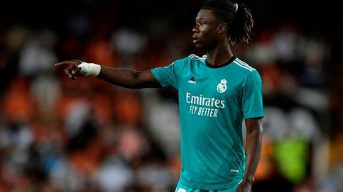 Camavinga, sobrado a sus 18 años para tirar la puerta abajo en el Real Madrid