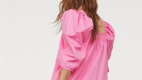 Rosa, amplio y con las mangas XL, así es el nuevo vestido viral de H&M