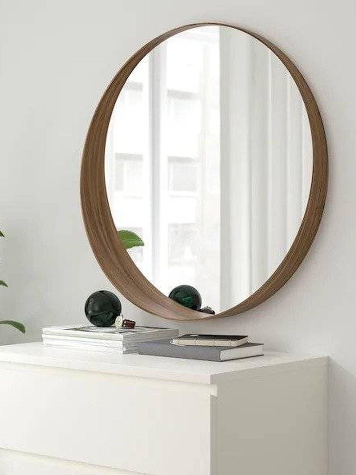 Espejo de Ikea. (Cortesía)