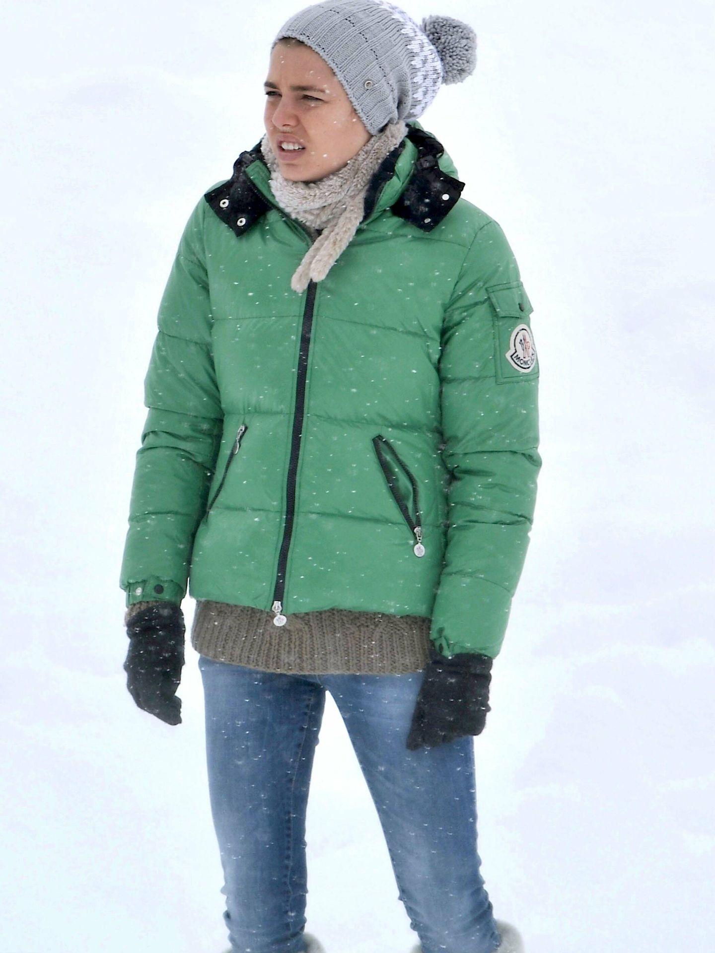 Carlota Casiraghi en la nieve. (CP)