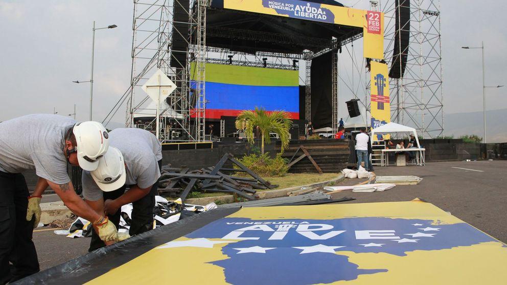 'Venezuela Aid Live' vs 'Hands Off Venezuela': guerra de conciertos en la frontera