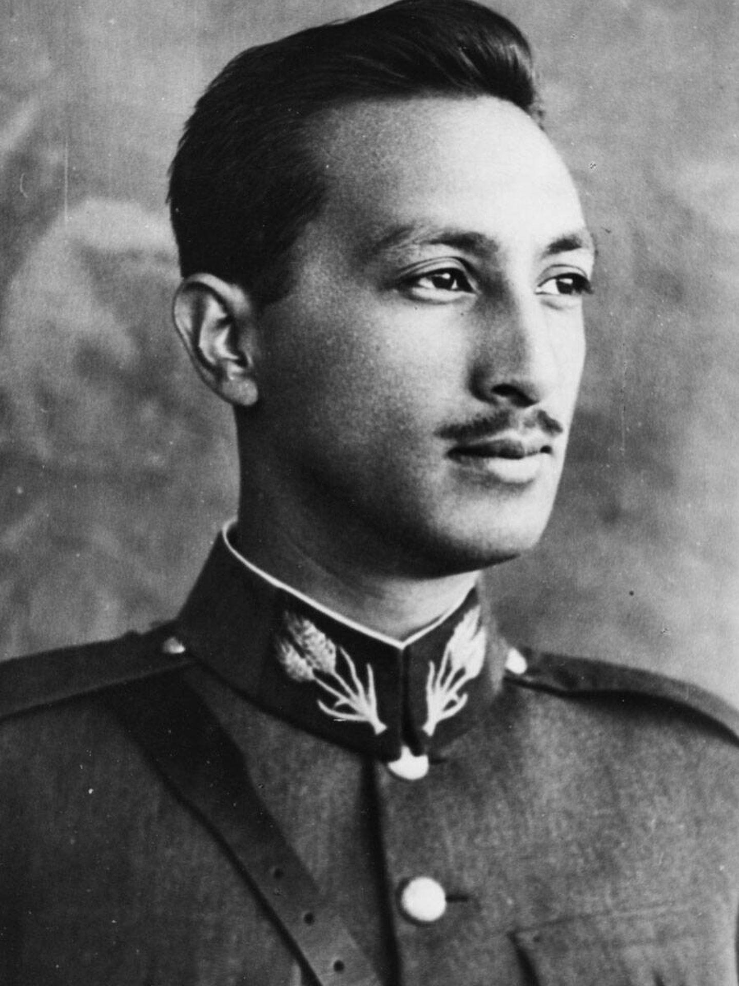 Mohammed Zahir Shah, en su juventud. (Getty)