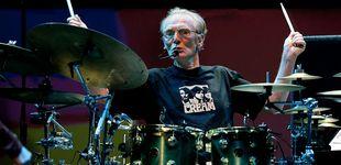 Post de Muere el mítico batería Ginger Baker, fundador de Cream junto a Eric Clapton