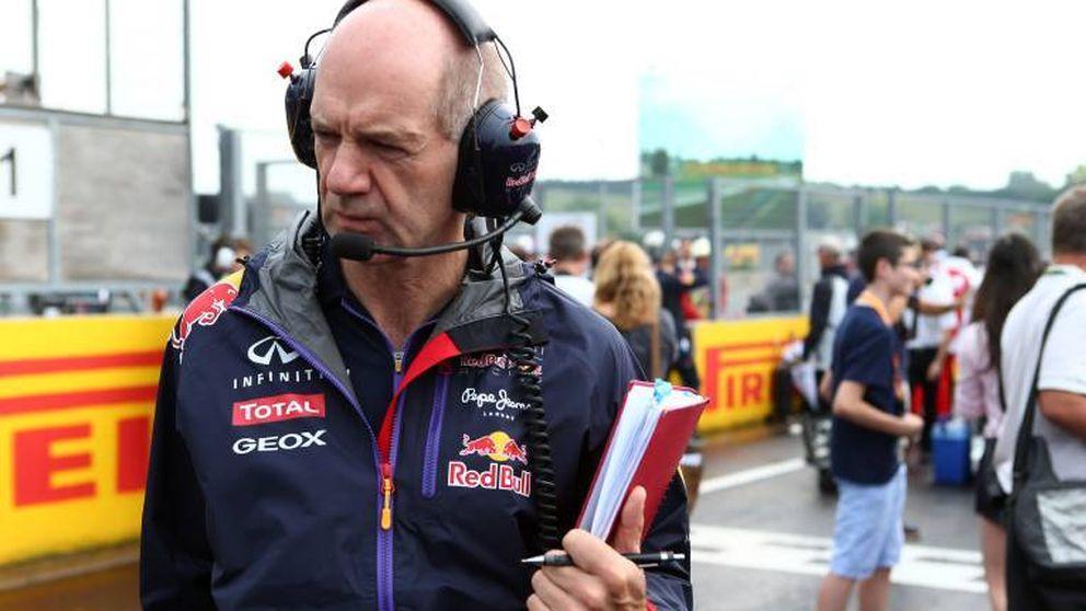 ¿Ha vuelto a hacer Adrian Newey otra diablura? El doble DRS de Red Bull