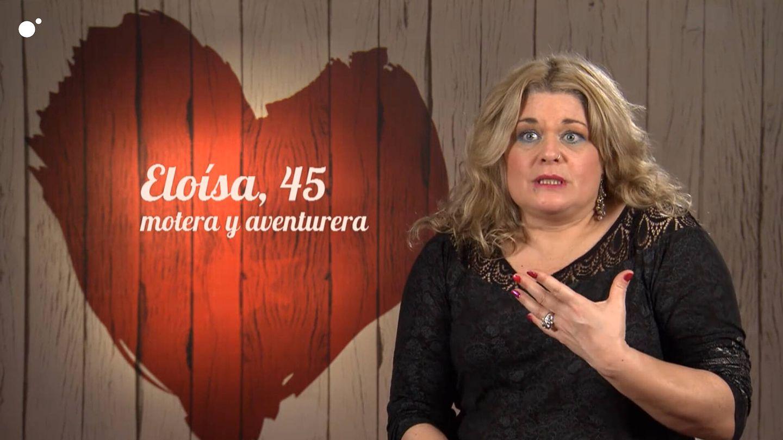 Eloísa, en 'First dates'. (Cuatro)
